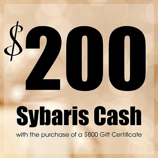 $200 Sybaris Cash