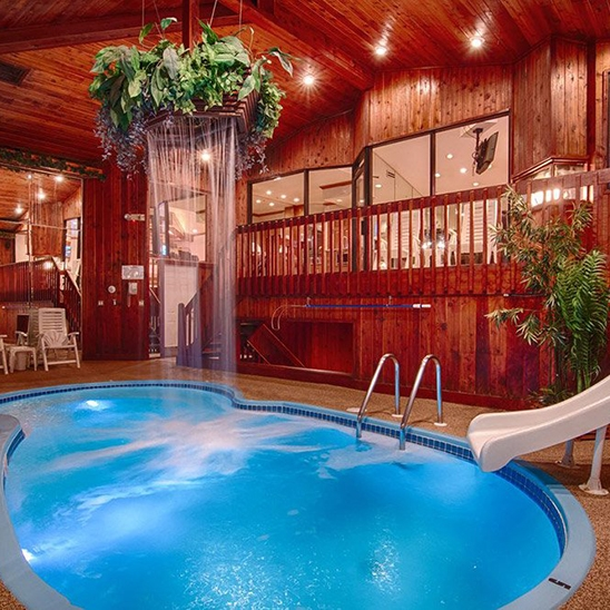 Afternoon Getaway in the Chalet Swimming Pool Suite