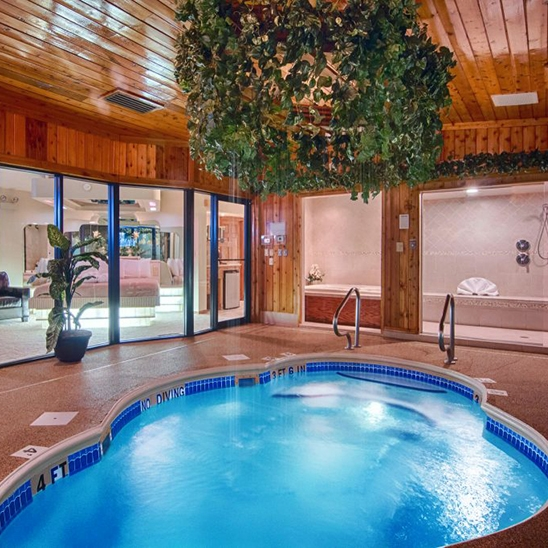 Afternoon Getaway in the Paradise Swimming Pool Suite